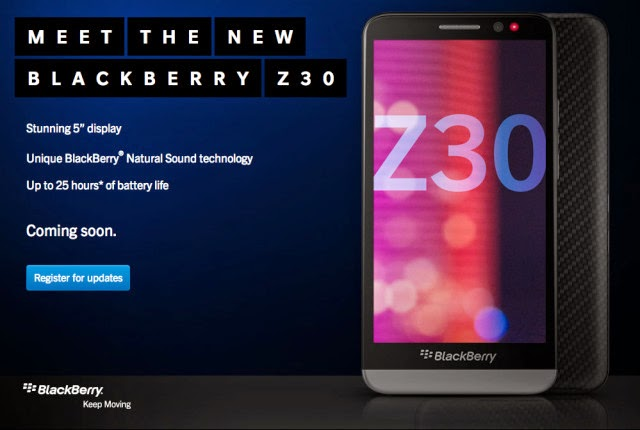 The New BlackBerry Z30